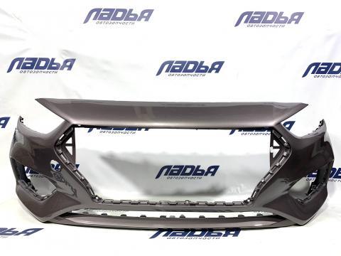 Бампер Hyundai Solaris(17-) передний Коричневый S4N купить в Саратове цена